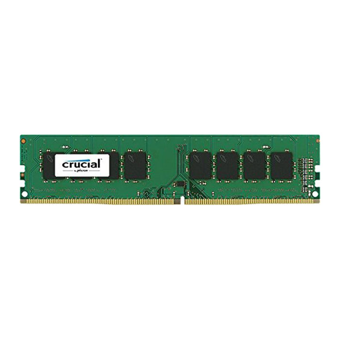 8GB Crucial DDR4 Server Memory, PC4-17000 (2133), ECC Registered, CAS 15, Single Ranked, 1.2V, Single Module