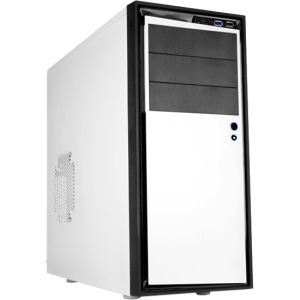NZXT Source 210 Elite Computer Case - ATX, Micro ATX Motherboard Supported - Mid-tower - Plastic, Aluminium - White