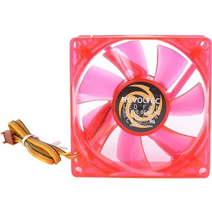 Revoltec Fan Dark Red 120mm - Red