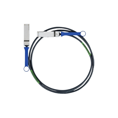 Mellanox Passive Copper Cable, VPI, IB FDR, up to 56Gb/s, QSFP, 0.5 meter