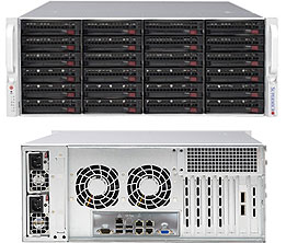 Supermicro SuperChassis CSE-846BE1C-R1K28B