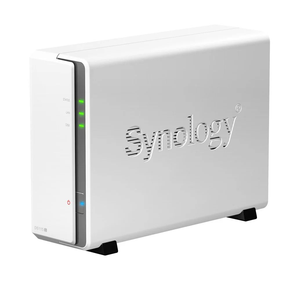 1 Bay Synology DS115J All In One NAS Server SATA HDD 2.5