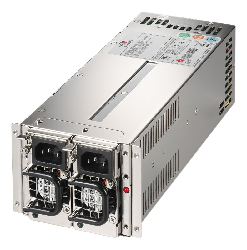 Zippy R2G-5500V4V 500W Dual Redundant PSU for 2U Chassis