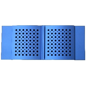 Blue Aluminium Doors for CE-C4 & C6 Chassis