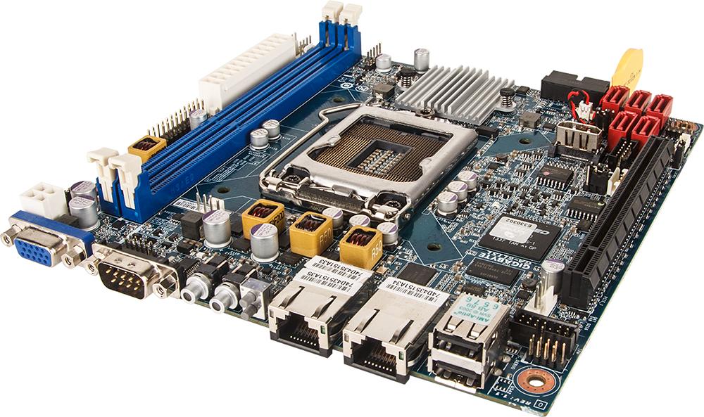 Gigabyte GA-6LISL Mini-ITX Server Motherboard - Single Socket E3