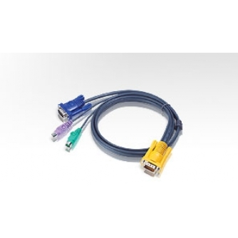 Aten PS/2 KVM Cable for CS74E Switch (1.8m)