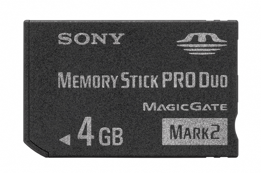 Sony 4GB Memory Stick Pro Duo Mark2