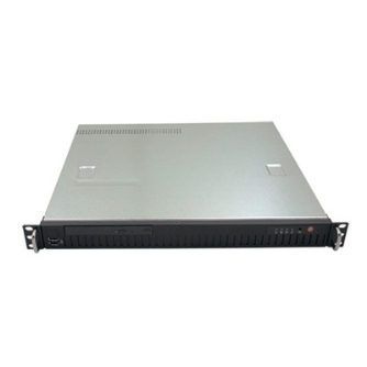 1U chassis with 250W Single industrial PSU 80+ Bronze(RMC-1ER)