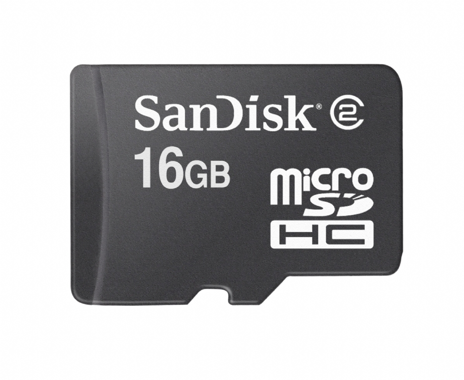 SanDisk Mobile 16GB MicroSD Card Class 2