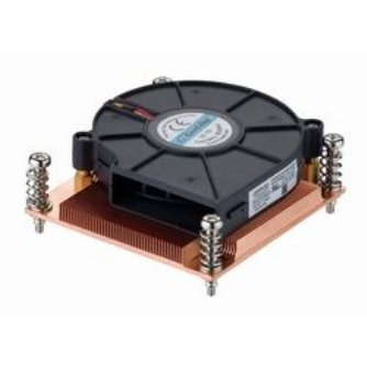 1U Active Heatsink With Side Flow Fan (LGA-775)