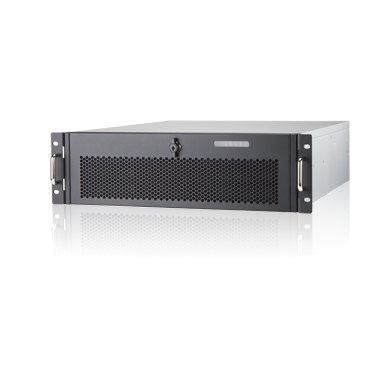 In-Win IW-R300-01 - 3U Feature Rich Short Depth Server Chassis for CCTV Applications