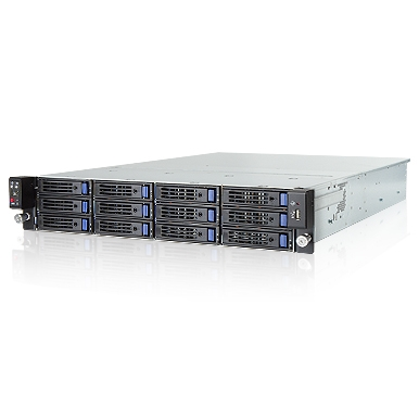 In-Win IW-RS212-02 - 2U Server Chassis with 12x 3.5