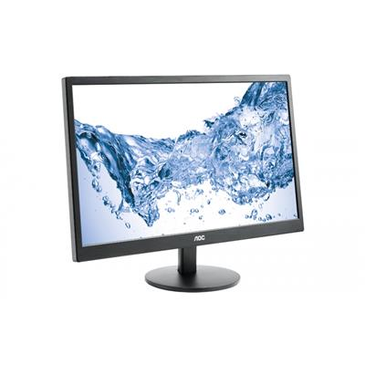 AOC E2470SWH 23.6 INCH Monitor LED  Narrow Bezel  1MS  VGA  DVI  HDMI  SPEAKERS