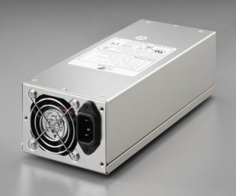 2U 650W Industry single PSU 90+ Gold