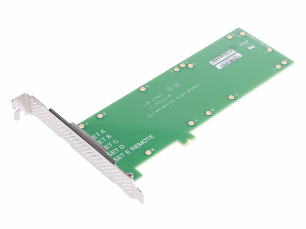 Broadcom BBU-BRACKET-05 for SuperCap and Battery Modules - Full Height and Low Profile Brackets Included