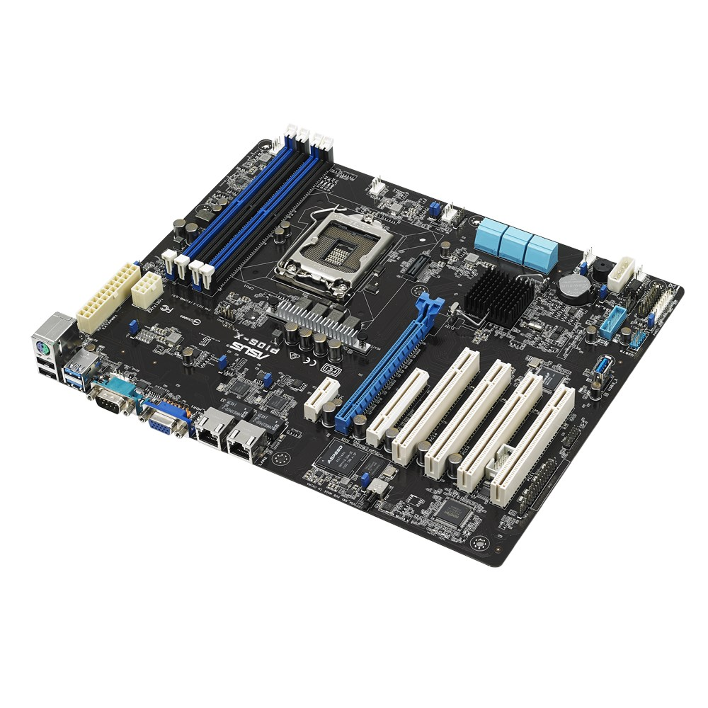 ASUS P10S-X P10S-X Server Board - Black (1 x Socket 1151/C232/DDR4/S-ATA/600)