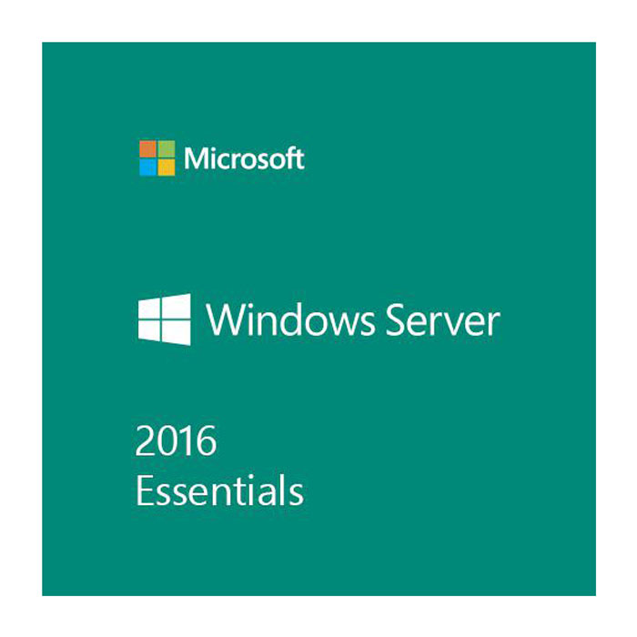 Microsoft Windows Server Essential 2016, OEM, 64-Bit, DVD, 1-2 CPU