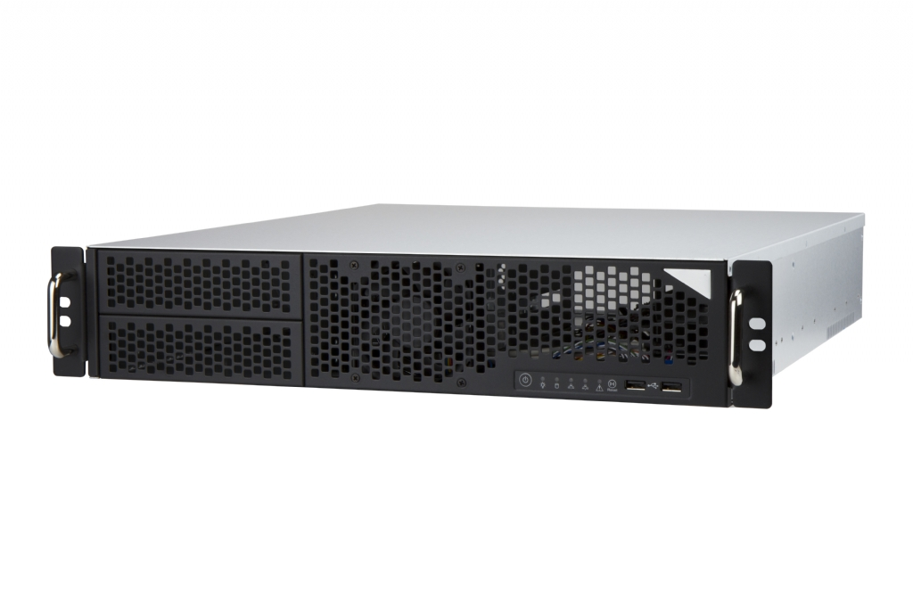 In-Win IW-R200-02 - 2U Feature Rich Short Depth Server Chassis - 3x Full Height Slots