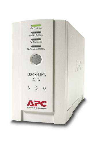 Apc Back Ups Cs 650va 400w 230v Db 9 Rs 232 Usb