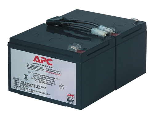MDS Battery MDS6 UPS Battery Kit Compatible with APC RBC6
