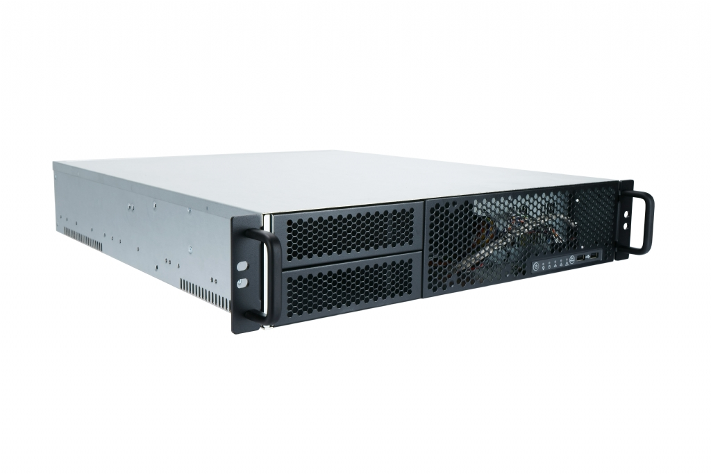 In-Win IW-R200-02N - 2U Feature Rich Short Depth Server Chassis