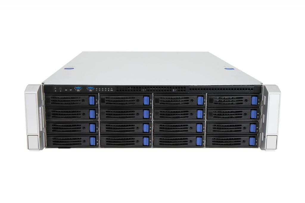 In-Win IW-RS316-02M - 3U Server Chassis for Extended Motherboards with 16x  3 5