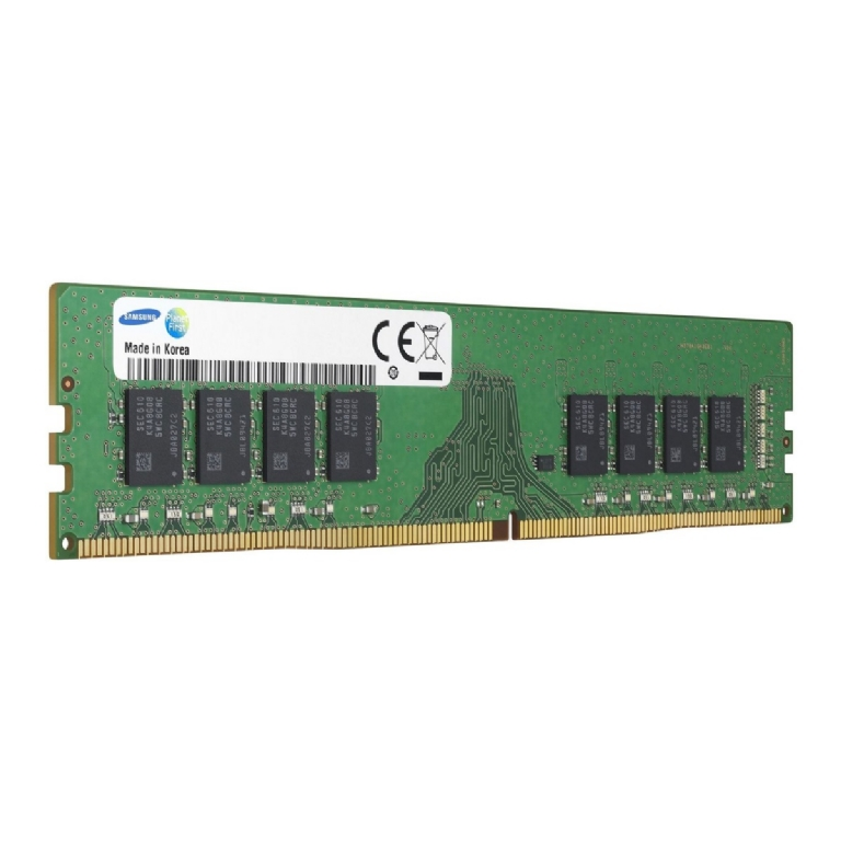 8GB Samsung DDR4 Server/Workstation RAM, PC4-19200 (2400), ECC UDIMM, CAS 17, Dual Rank, 1.2V