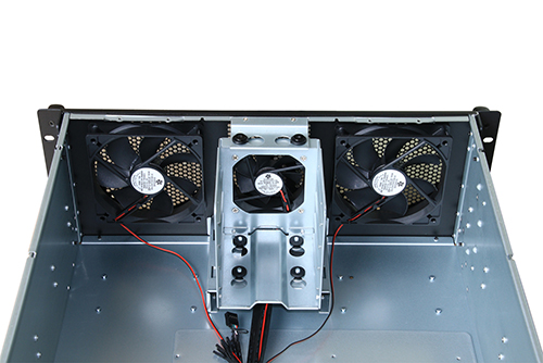 4U Short Depth Server Chassis 4x 3 5