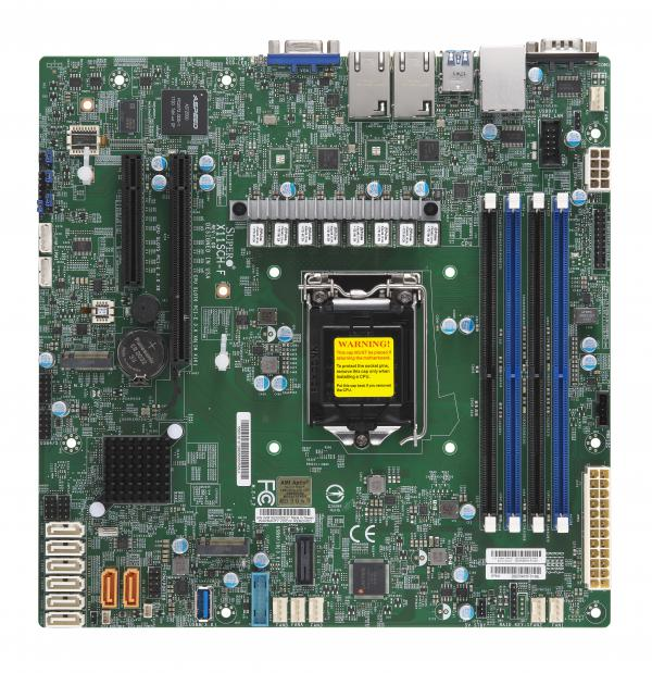Supermicro Motherboard X11SCH-F (Retail)