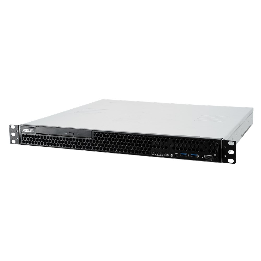 ASUS RS100-E10-PI2 1U Intel Xeon-E Rack Optimised Server with Quad LAN