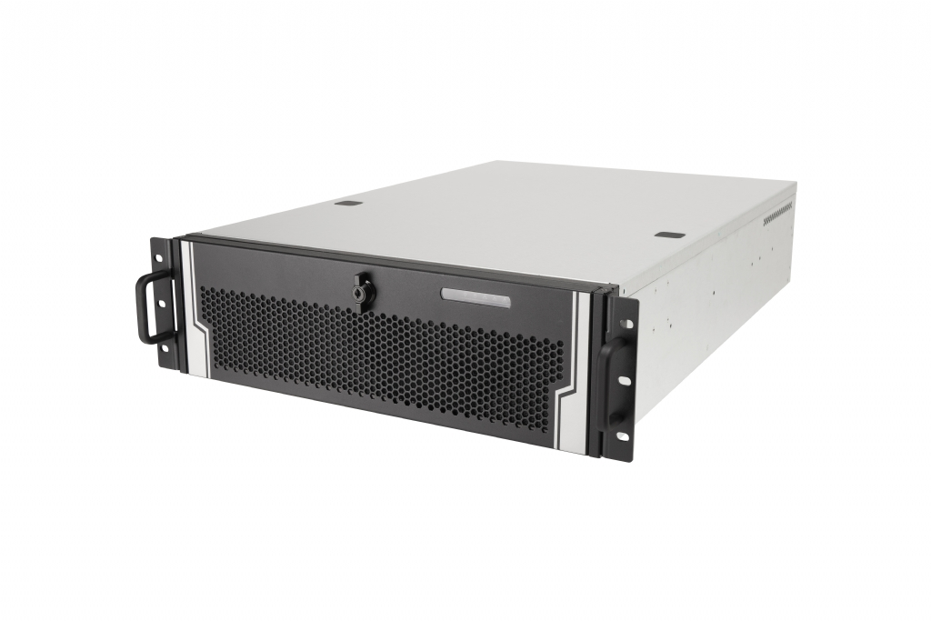 In-Win IW-R300-02N - 3U Feature Rich Server Chassis for CCTV Applications