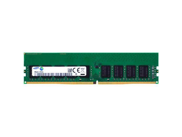 8GB Samsung DDR4 Server/Workstation RAM, PC4-21300 (2666), ECC UDIMM, Single Rank, 1.2V