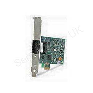 Allied Telesis PCI-E Adaptor Card - 100M Fibre ST Interfaces - Single Pack