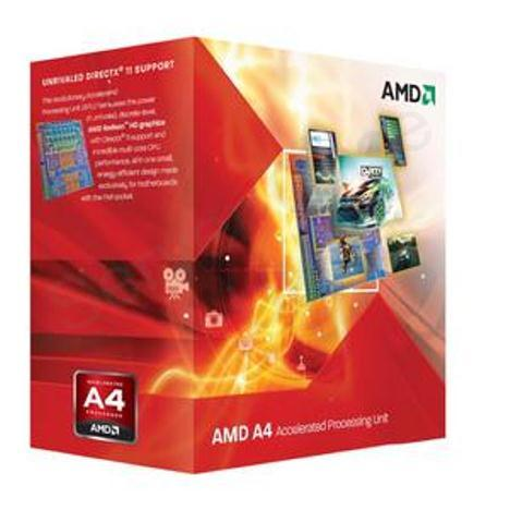 AMD A4 Series Dual Core (A4-5300) 3.4GHz Accelerated Processor Unit (APU) 2x512MB with Radeon HD 7480D Graphic Card