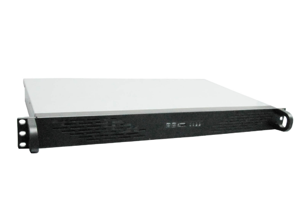 Rack Mountable Server Chassis Case 1U 250MM Ultra Short Depth for ITX