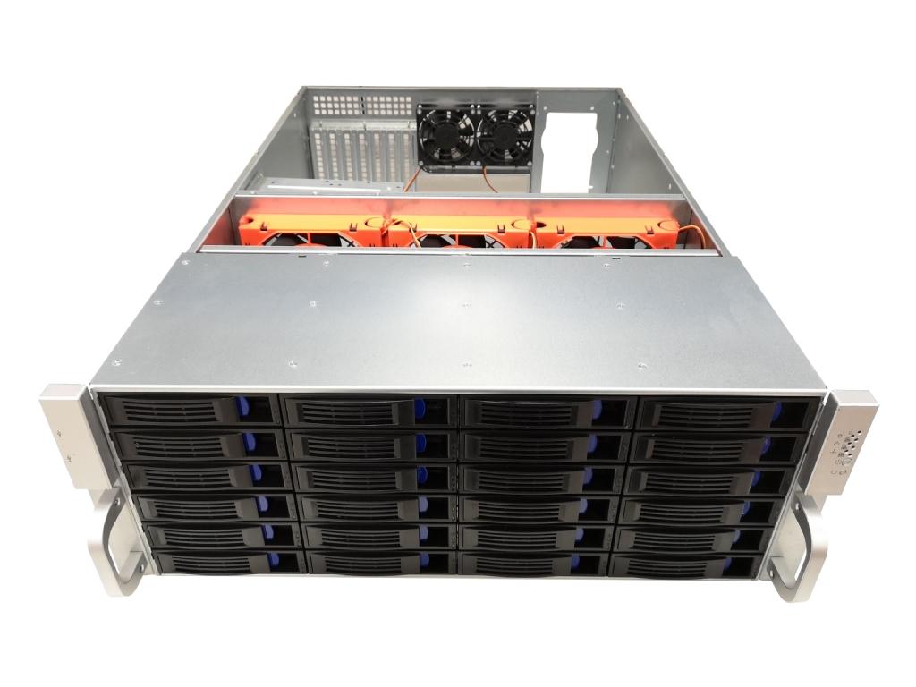 4U Server Case w/ 24x 3 5