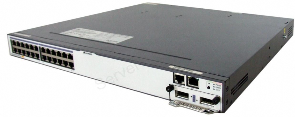 Huawei S5700-28P-PWR-LI-AC Mainframe Network Switch (24 10/100/1000 Base-t 4 1000 Base-x PoE AC 110/220V)