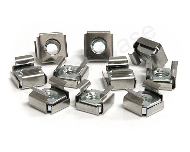 StarTech Cage Nuts For Server Rack Cabinet M6 - (50 Pkg)