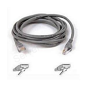 RJ45 CAT-5e Snagless Molded Patch Cable Grey 5m (16.4ft.)