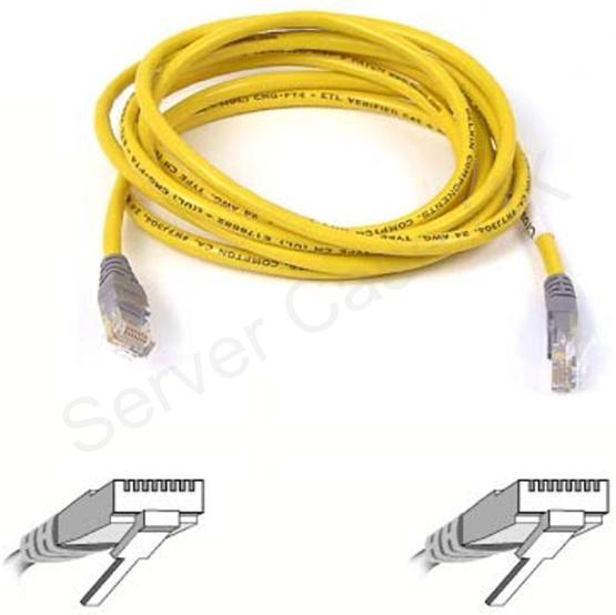 Belkin RJ45 CAT 5e UTP Crossover Cable Yellow 5m