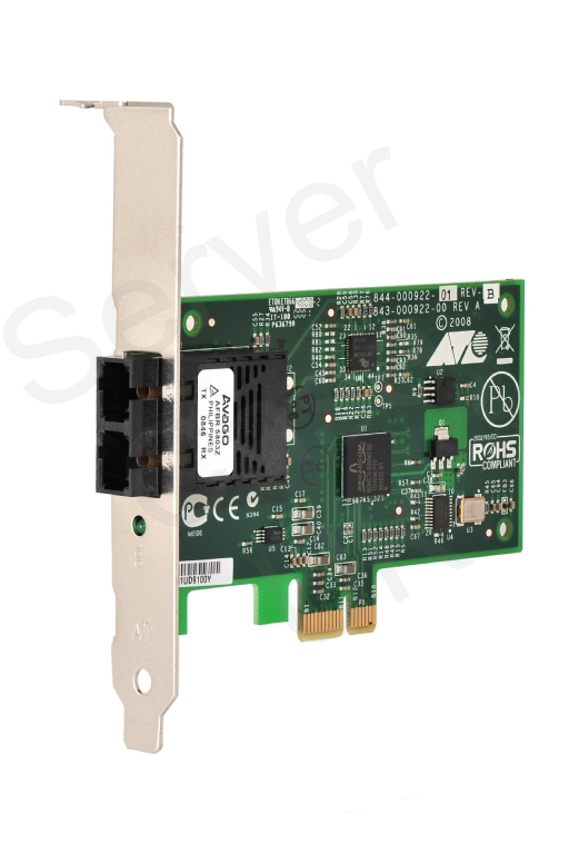 Allied Telesis Secure Network Interface Card 100FX (SC), PCIe x 1, Secure NIC