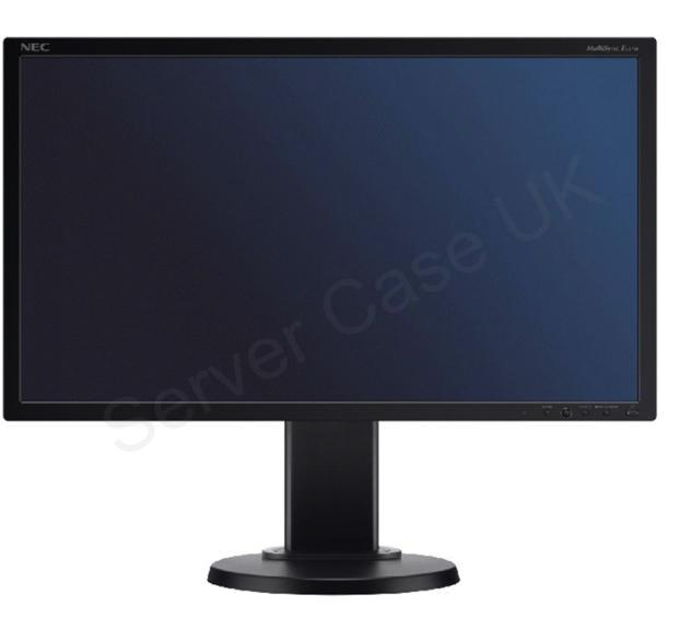 NEC Displays MultiSync E231W 23 inch Wide TFT LCD Monitor 1000:1 250cd/m2 1920 x 1080 5ms DVI with Led Blu (Black)