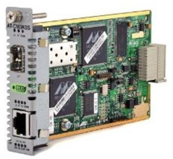 Allied Telesis AT-CM3K0S 10/100/1000T to 100/1000X SFP Converteon Media and Rate Converter Line Card