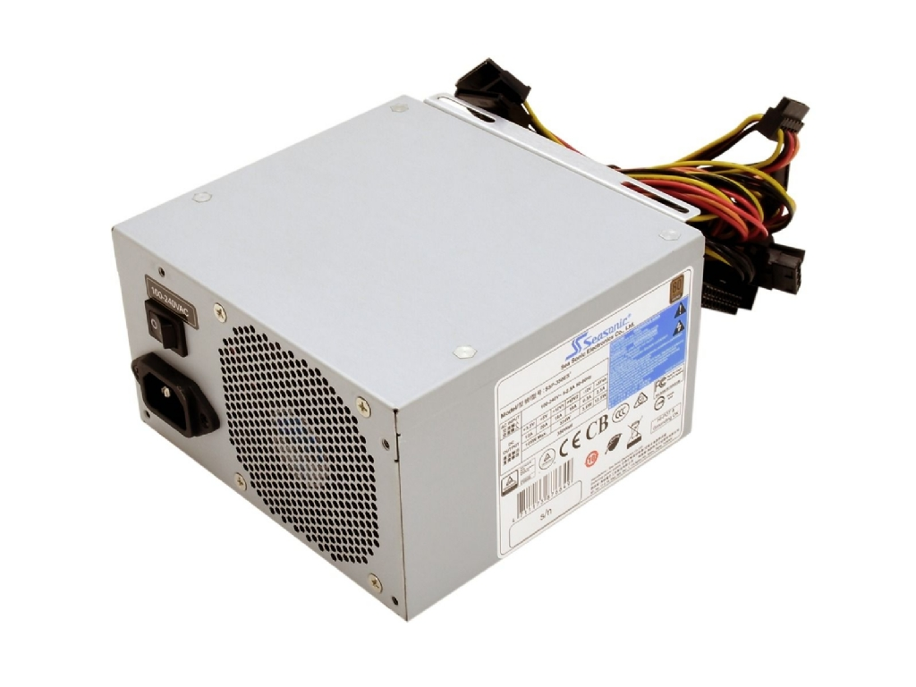 Seasonic SSP-500E2S 500W ATX Server PSU with 8cm Single Fan