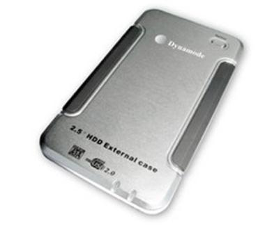 Dynamode USB-HD2.5-SI 2.5 inch SATA or IDE 1-Button Backup Disk Enclosure
