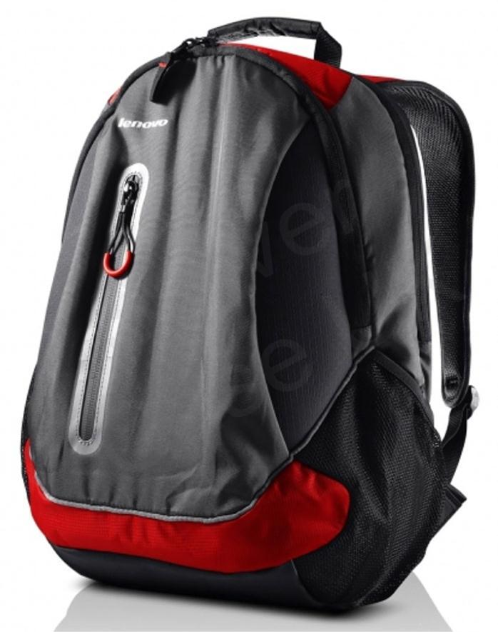 Lenovo Sport Backpack for 15.6 inch Notebooks (Black/Red)