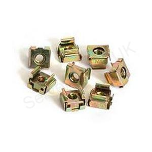 StarTech M5 Cage Nuts for Server Rack Cabinets Rack nuts (pack of 50)