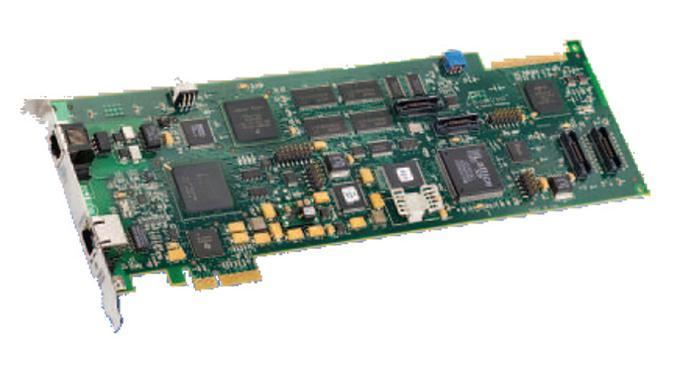Dialogic Brooktrout TR1034-P2-2L-R HALF Fax Board: 2 Channel Analog V.34 Universal PCI Half-Size