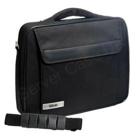Techair Z Series Z0107V3 Classic Clam Briefcase (Black) for 17 inch Laptops