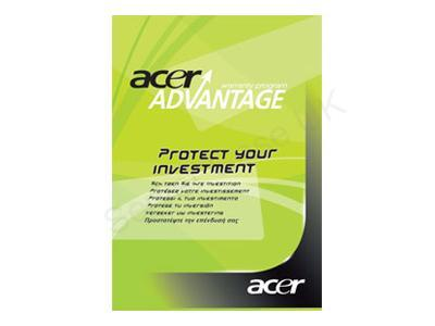 Acer Advantage 3 Year Pick-up and Return Warranty Upgrade for Iconia Tablets